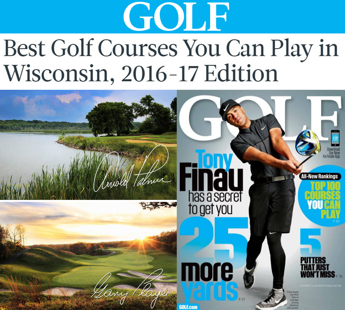 Geneva National Courses Among GOLF's 2016-17 Best Courses ...