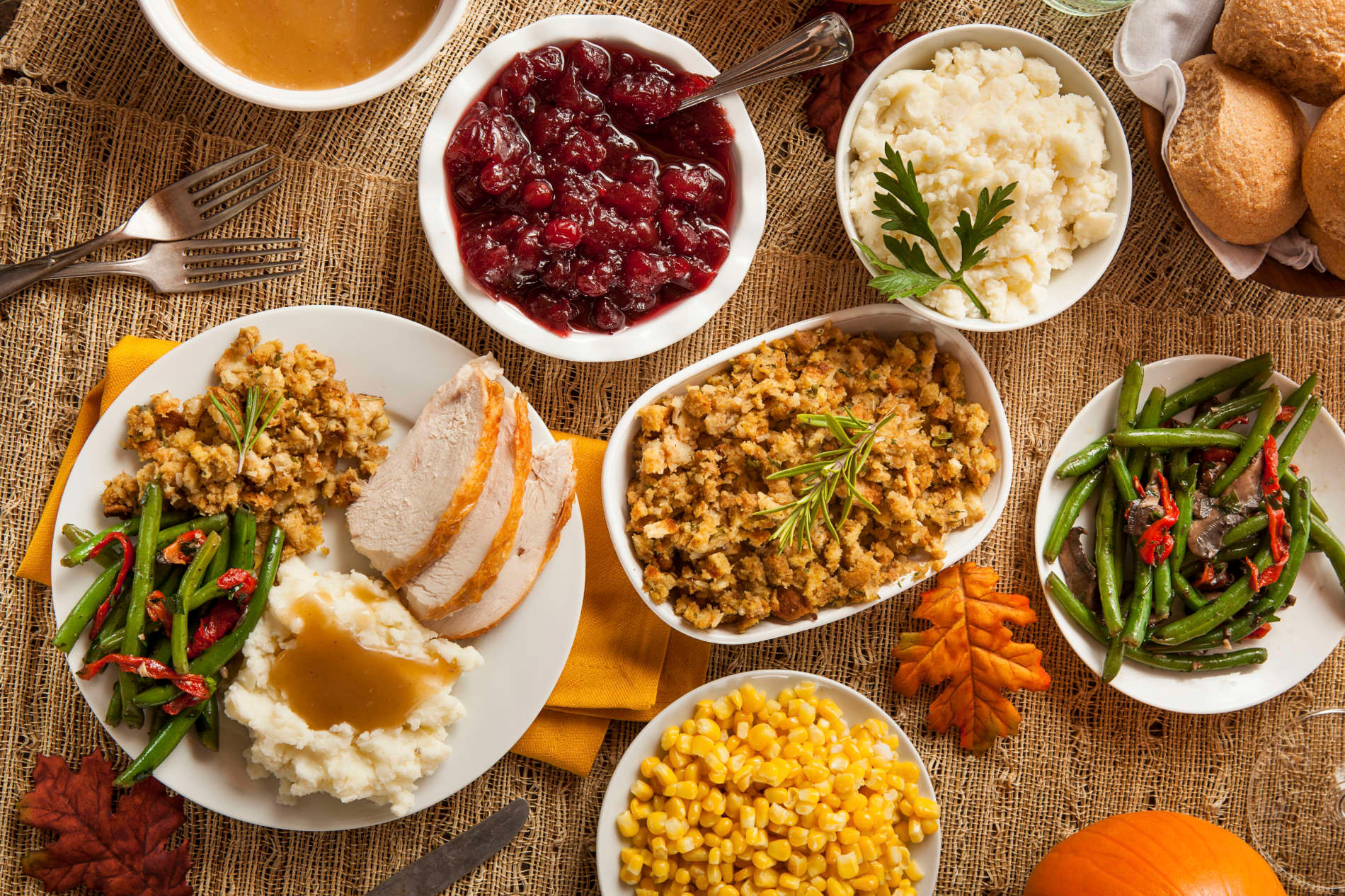 Thanksgiving To Go Feast 11 28