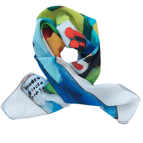 Scarf Silk - 68X68 AMADEO SOUZA-CARDOSO