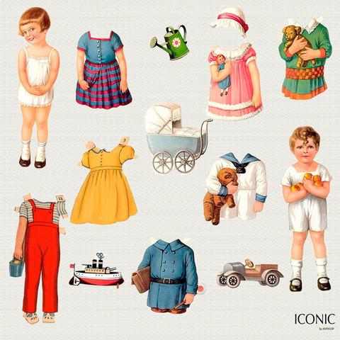 Vintage - Paper Dolls