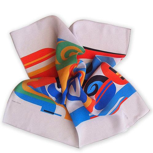 Scarf Silk HORUS _ 39x39 pocket_NADIR AFONSO