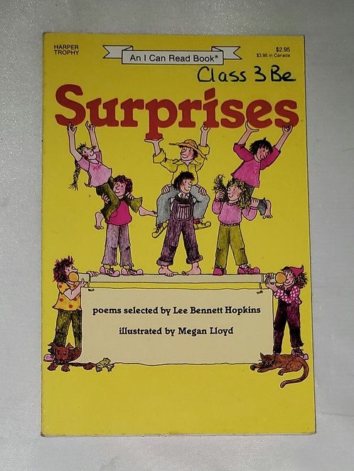 Surprises: An ALA Notable Children's Book, selected by Lee Hopkins