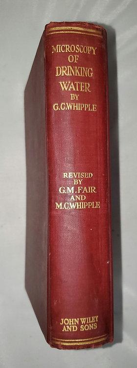 Microscopy of Drinking Water bt G.C. Whipple