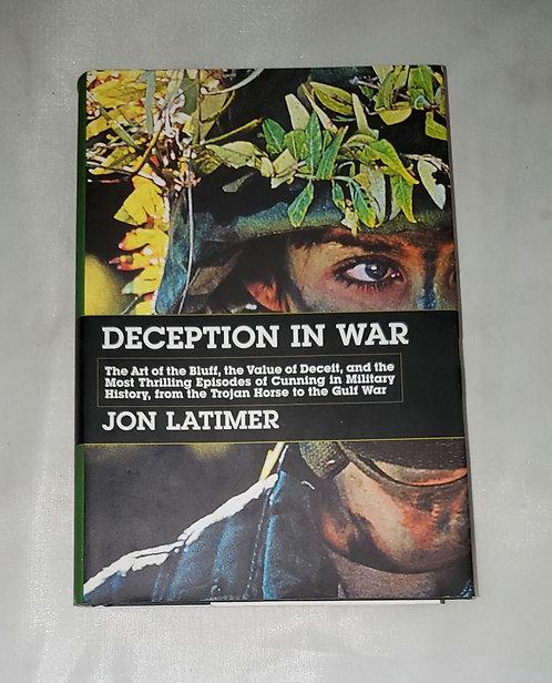 Deception in War by John Latimer