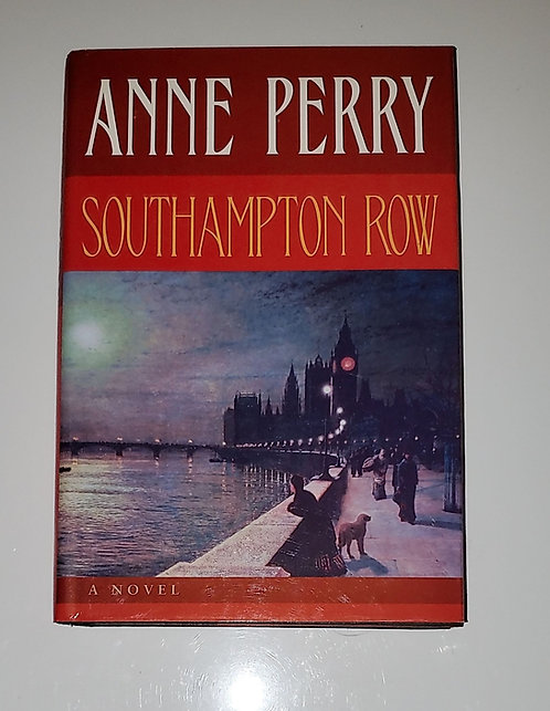 Southampton Row - by Anne Perry