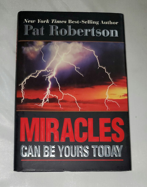 Miracles Can Be Yours Today by Pat Robertson SIGNED