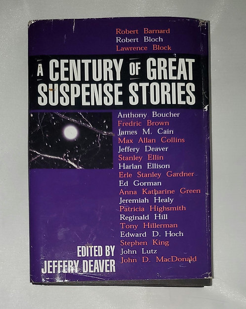 A Century of Great Suspense Stories edited by Jeffery Deaver