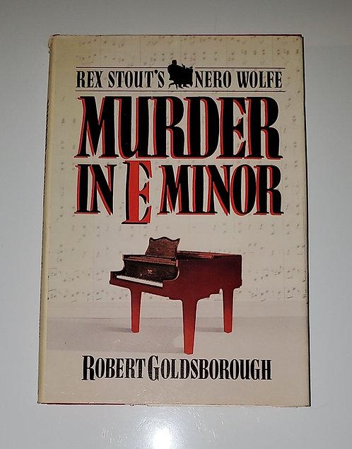 Murder In E Minor - by Robert Goldsborough
