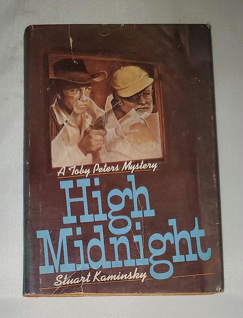 High Midnight: A Toby Peters Mystery by Stuart Kaminsky