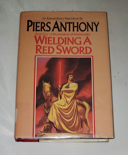 Wielding A Red Sword by Piers Anthony - Book 4 of Incarnations of Immortality