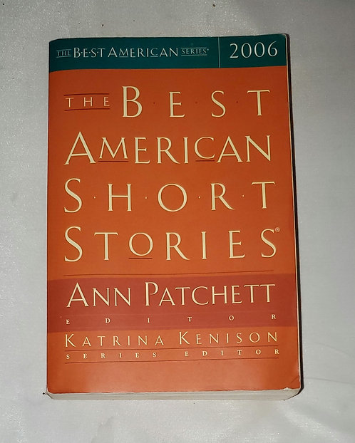The Best American Short Stories: Ann Patchett Edition by Katrina Kenison 1.10