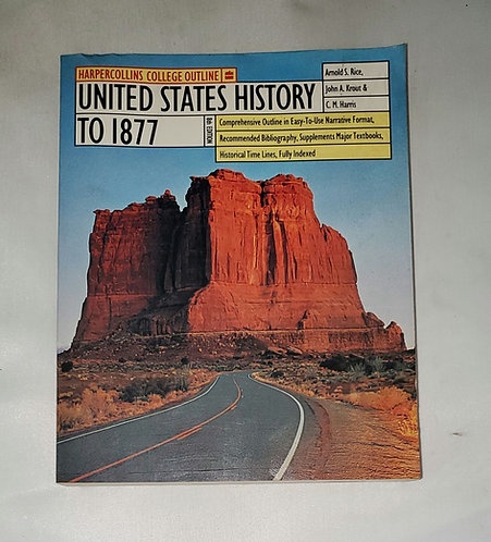 United States History to 1877 8th Edition