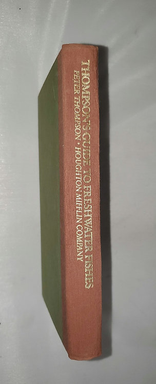 Thompson's Guide to Freshwater Fishes by Peter Thompson 1985