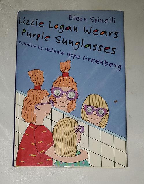 Lizzie Logan Wears Purple Sunglasses by Eileen Spinelli