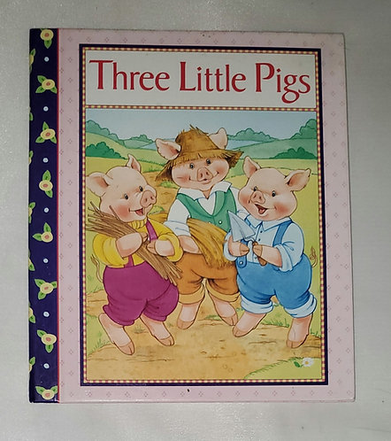 The Three Little Pigs adapted by Sarah Toast, Illus. by Susan Spellman