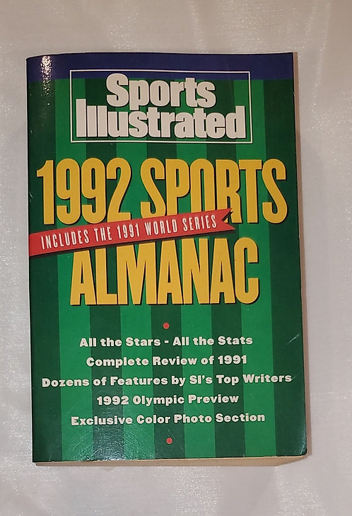 1992 Sports Almanac by Sports Illustrated