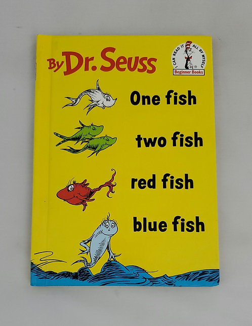 One Fish Two Fish Red Fish Blue Fish by Dr. Seuss 1960 Edition