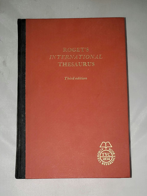 Roget's International Thesaurus: Third Edition