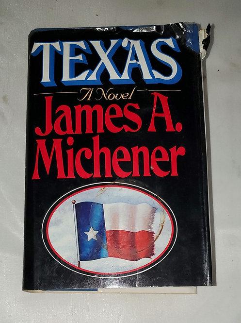 Texas: A Novel by James A. Michener