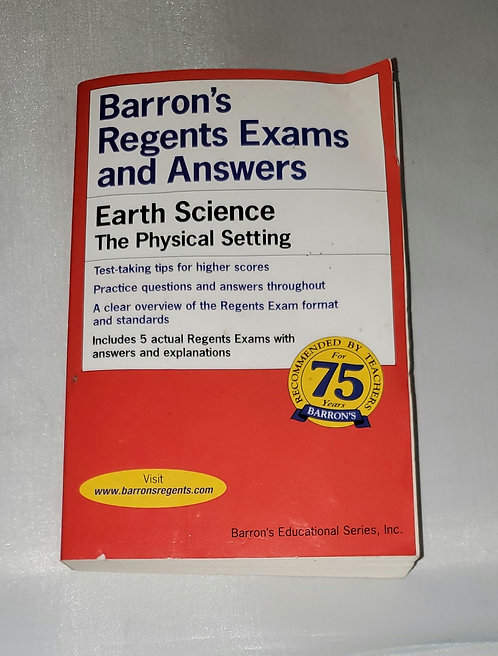 Barron's Regents Exams and Answers: Earth Science, The Physical Setting