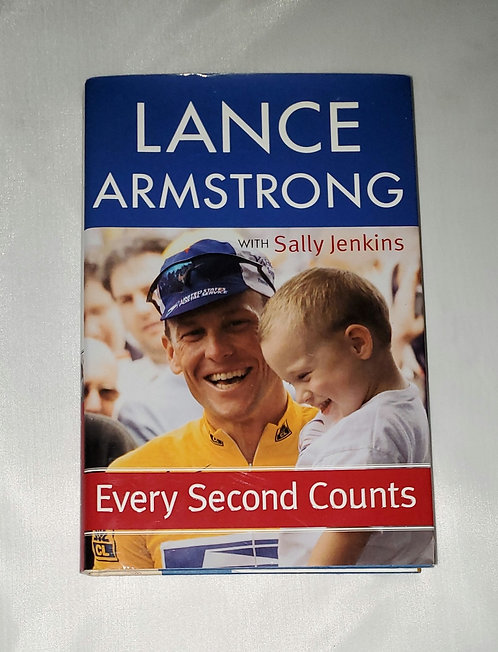 Lance Armstrong: Every Second Counts with Sally Jenkins