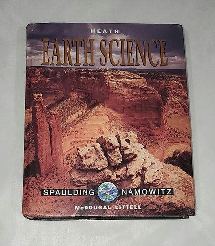 McDougal Littell Earth Science: Heath Earth Science Grades 9-12 1999 10th Ed.