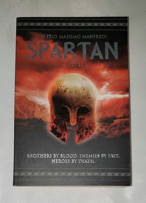 Spartan, A Novel by Valerio Massimo Manfredi