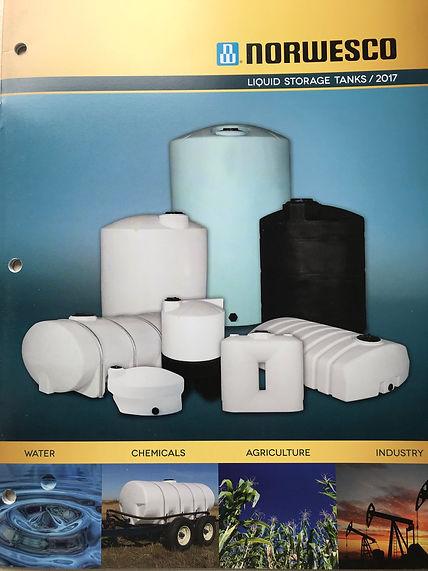 Catalogue de réservoirs en plastique Norwesco