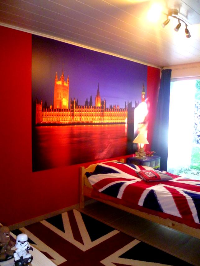 Vinyle Londres mur