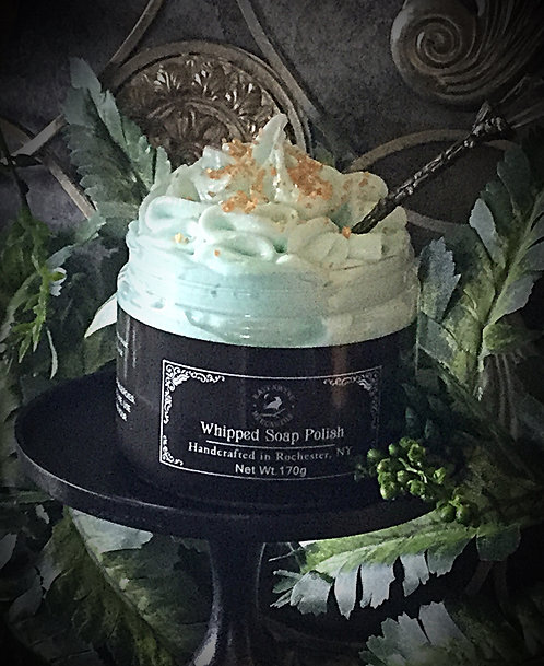 6 Pack Green Tea Whipped Soap Polish