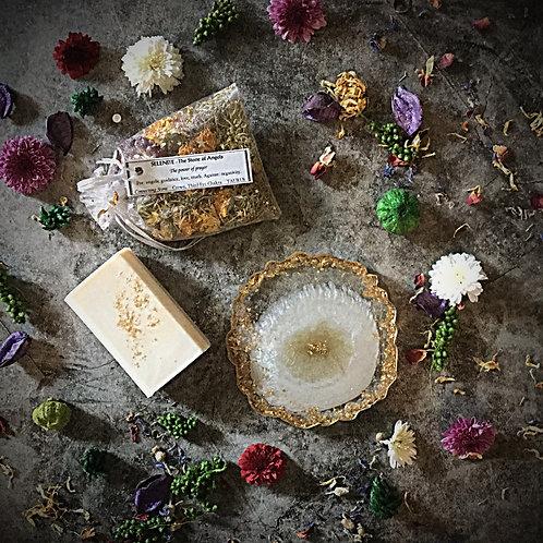 Holiday Gift Set-Selenite