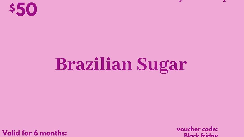 Brazilian Sugar Gift Card