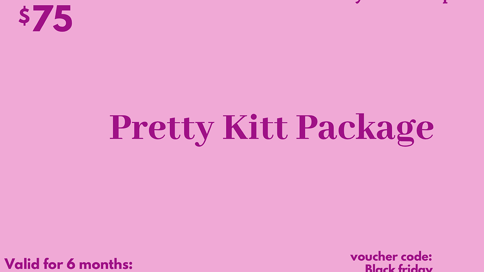 Pretty Kitty Package