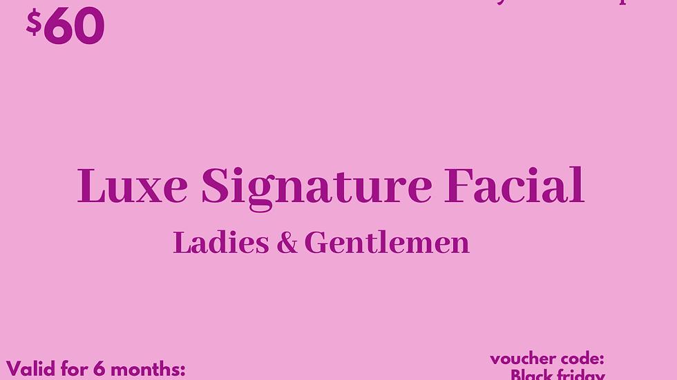Luxe Signature Facial Gift Card