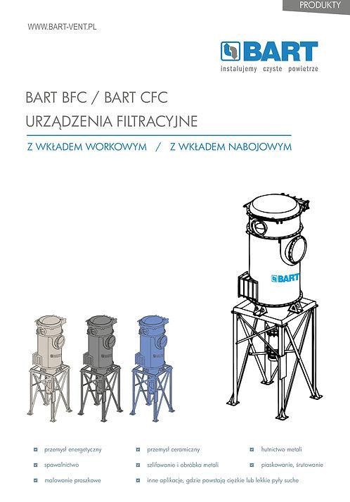 BART BFC - urządzenie filtracyjne z wkładami workowymi