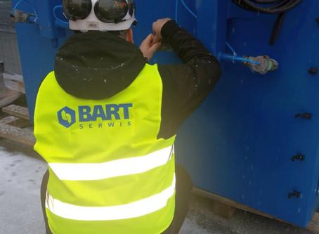 Kompleksowa oferta: BART SERWIS wspiera firmę BART w wykonywaniu przeglądów i serwisów instalacji