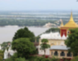 Myanmar, Irrawaddy river, river cruise