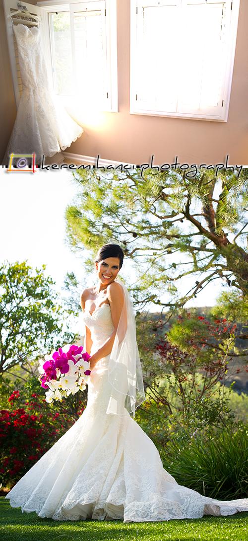 Burçin's Wedding Dress in Malibu, CA