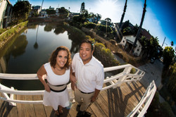 Venice Canals Fish-Eye Engagement