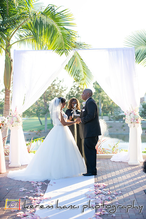 Wedding Ceremony at the Tustin Ranch Golf Club