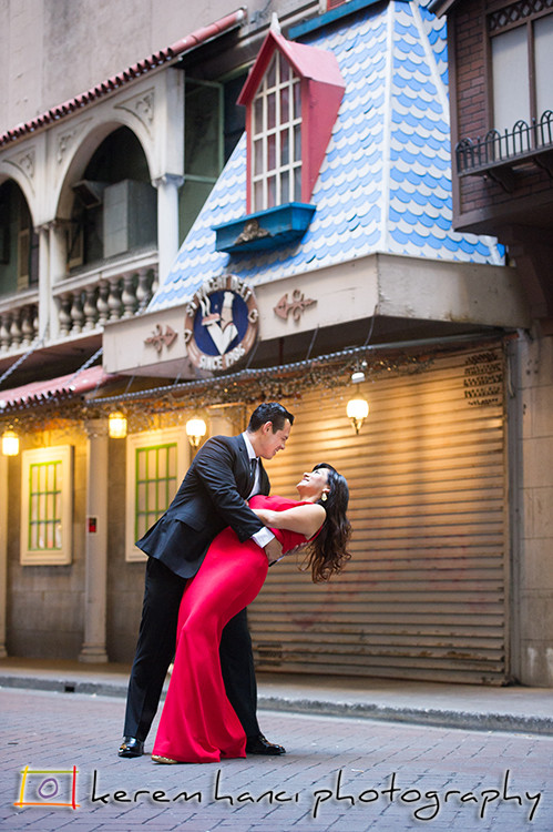 Downtown Los Angeles Engagement Photography