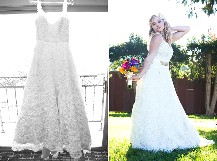 Kristie's Wedding Dress in Torrance, CA
