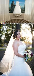 Alexis' Wedding Dress in Long Beach, CA