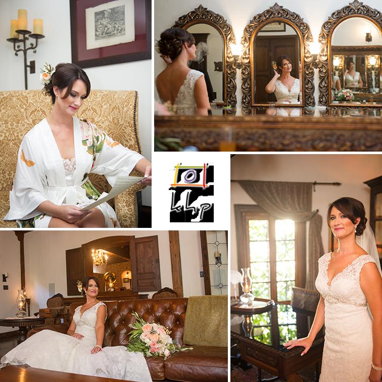 Bridal portraits at The Villa San Juan Capistrano