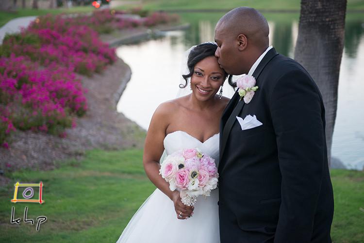 Wedding Portraits at the Tustin Ranch Golf Club