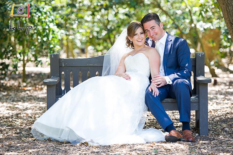 Wedding Portraits at Descanso Gardens
