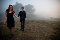 Foggy Palos Verdes Engagement