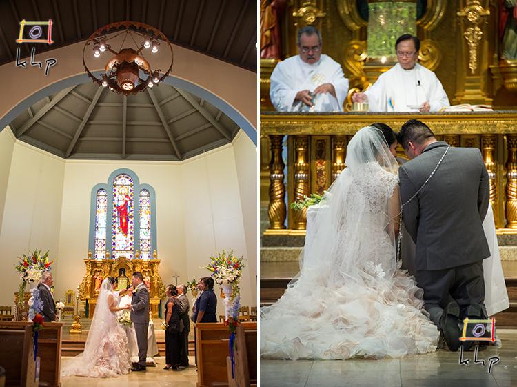 Altadena's Sacred Heart Church is a popular catholic church for weddings