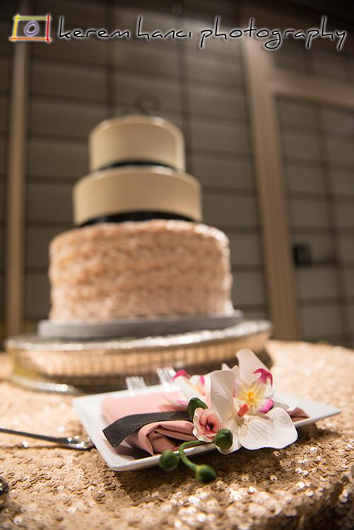 Wedding Cake at the Tustin Ranch Golf Club