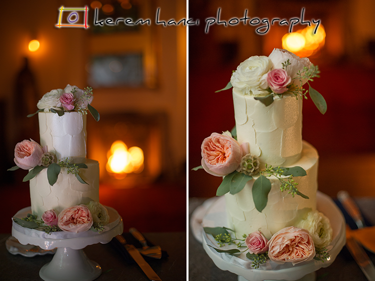 Wedding cake at the Villa San Juan Capistrano